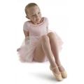 Bloch Glitterdust Full Sole Ballet Shoe Goud