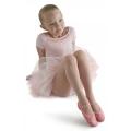 Bloch Glitterdust Full Sole Ballet Shoe Roze